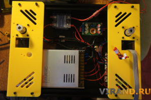 3Д принтер Prusa I4 проводка