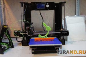 3Д принтер Anet A6 печать