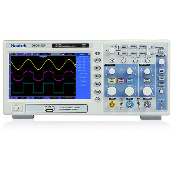 DSO5102P (DSO5202P) цифровой осциллограф Hantek