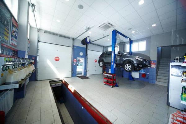 Система контроля для автомоек и автосервисов