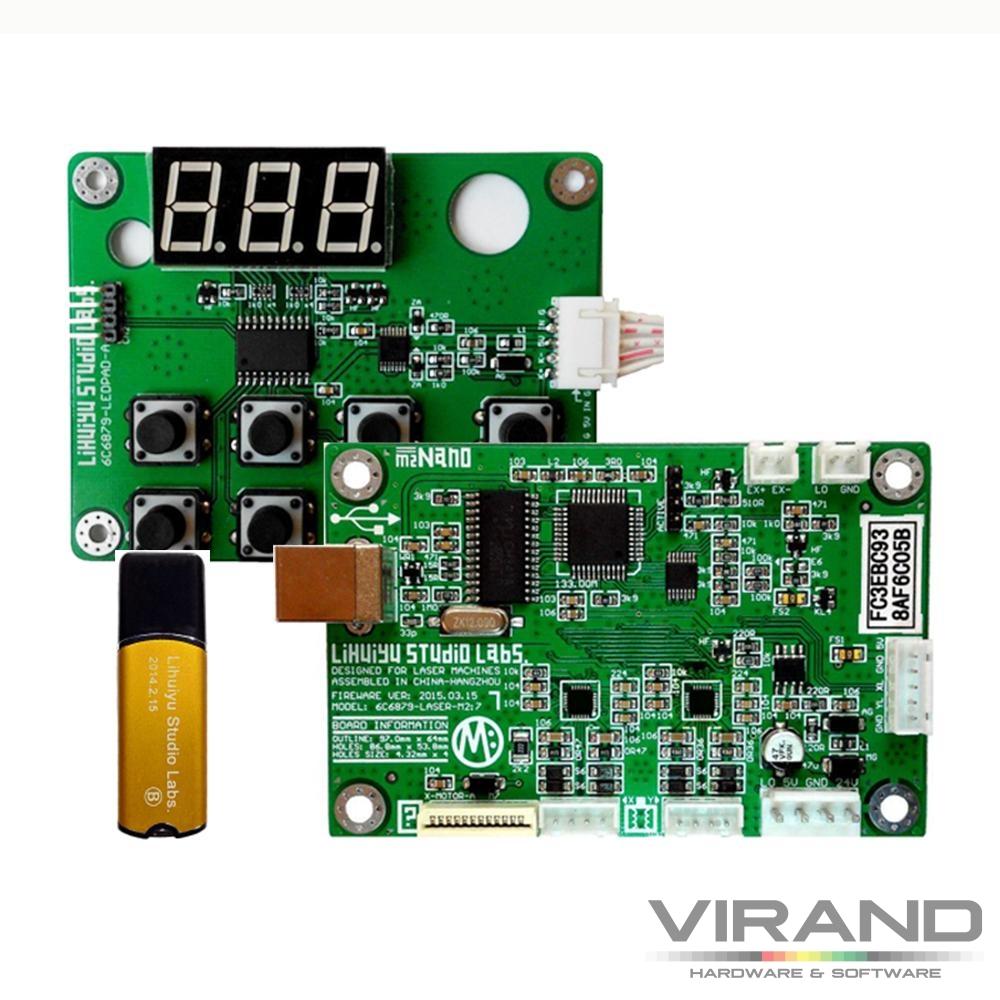 M2 Nano плата управления для лазерного CO2 станка купить
