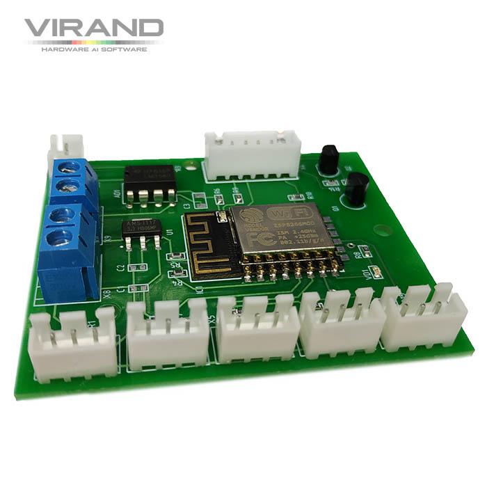 Система приточно вытяжной вентиляции с рекуперацией. Система управления. Контрактная разработка электроники VIRAND