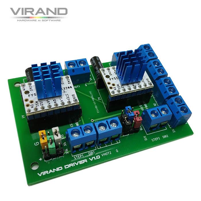 Драйвер шаговых двигателей для лазерного станка :: VIRAND
