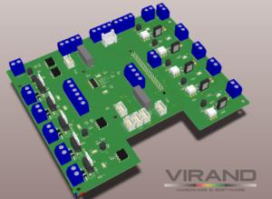 Система управления гидропоникой. контроллер гидропоники VIRAND