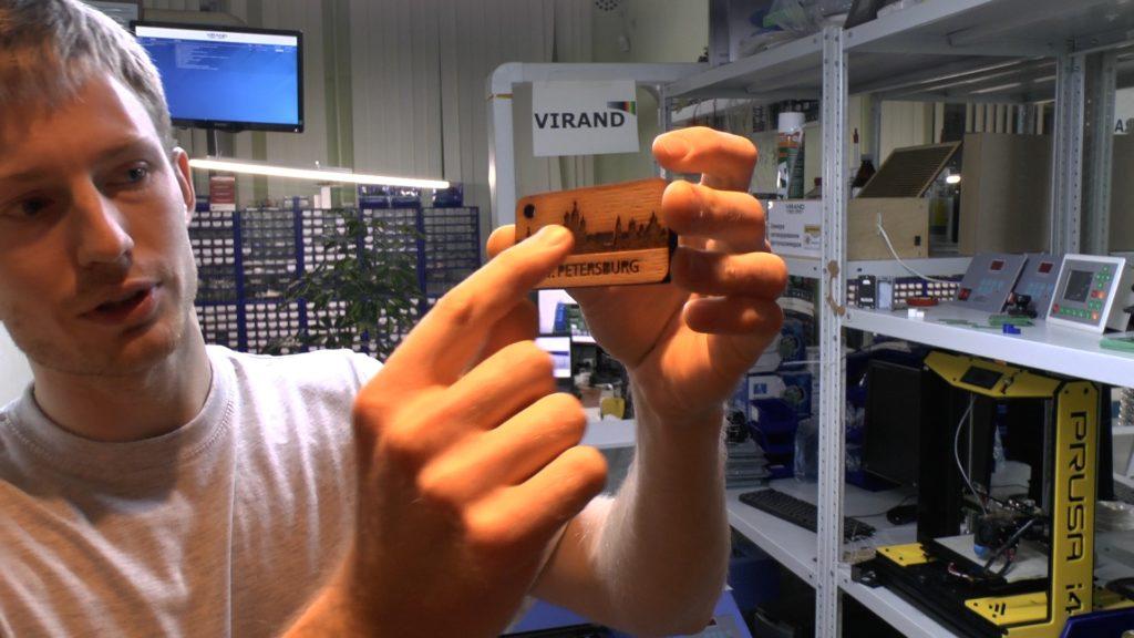 Запуск и настройка лазерного станка на базе платы M2 Nano. VIRAND