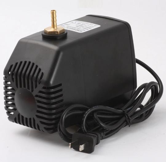 Водяная помпа для охлаждения лазерной трубки гравера станка CO2 80 Вт, 3500 л/ч