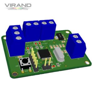 Датчик препятствий, контроллер для электровозов. Разработка электроники VIRAND