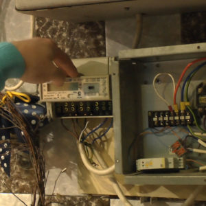 Контроллер воздушного теплового насоса VIRAND блок управления