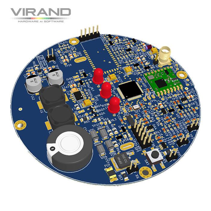 Контрактная разработка электроники LoRa WAN, BLE. VIRAND