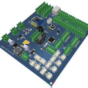Доп. контроллер virand smartLaser для лазерного станка, CO2 трубки, компрессора
