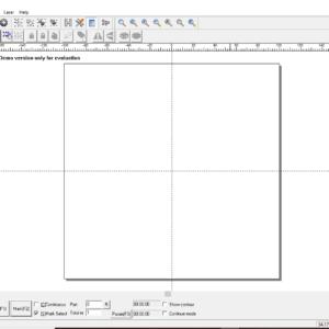Ezcad главное окно, программа для управления оптоволоконными маркираторами