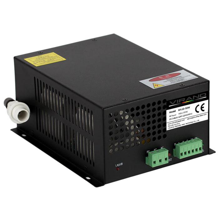 Блок розжига лазера CO2 (блок питания лазерной трубки) 50 Вт
