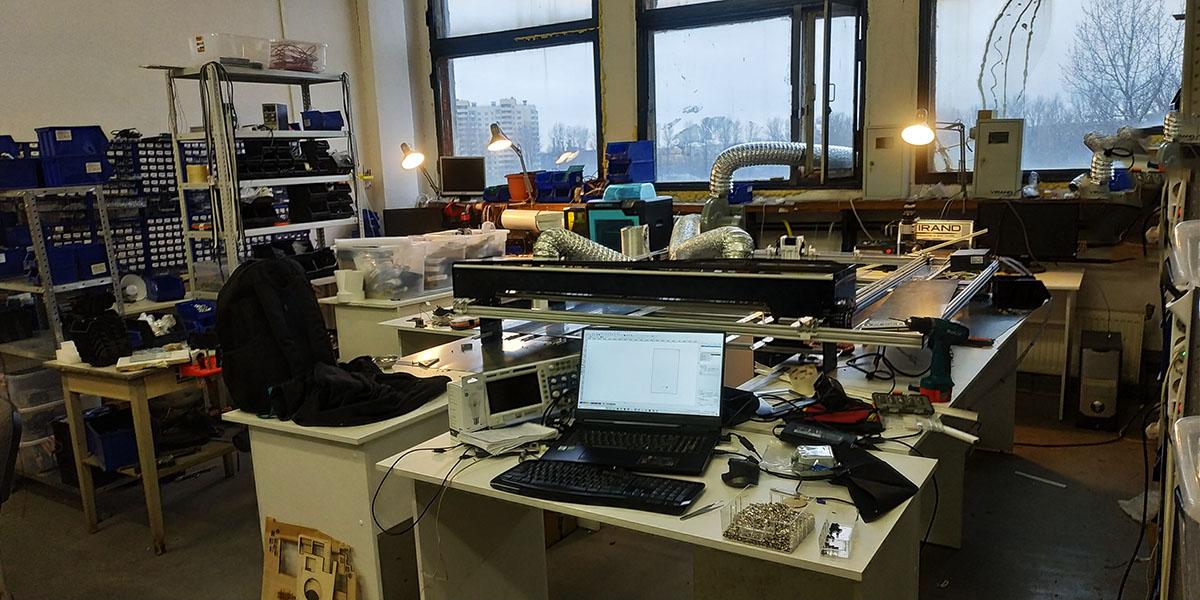 Купить Лазерный станок VIRAND CONSTRUCTOR V3 для ФКУ ИК №4 в п. Форносово Ленинградской области
