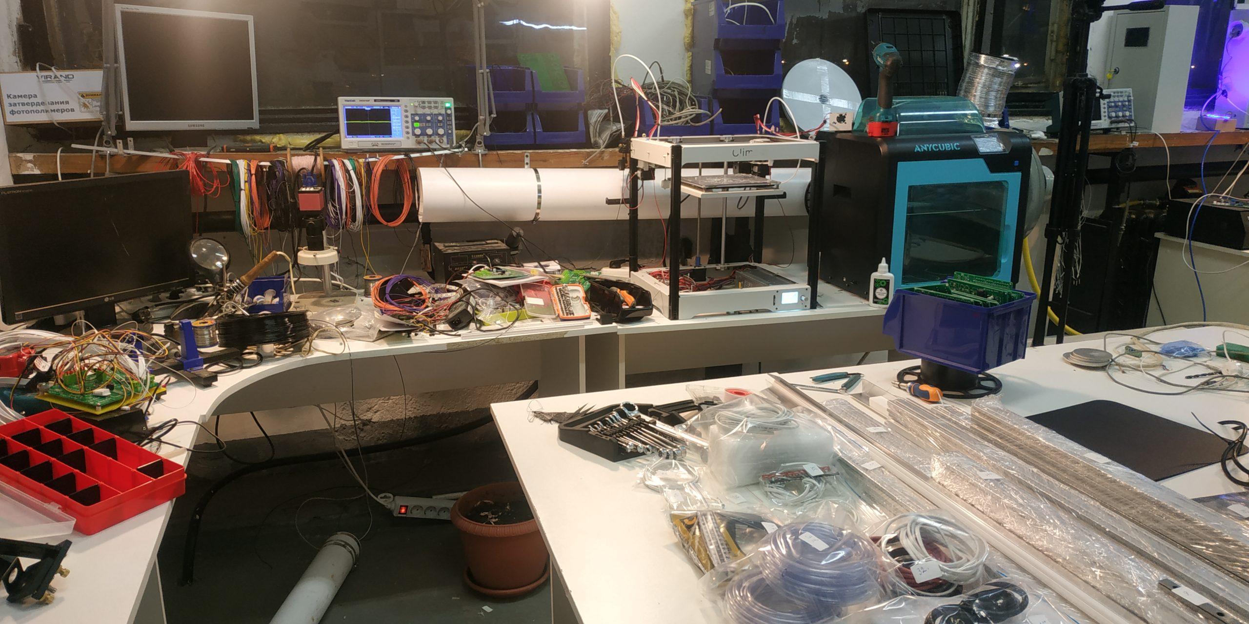 Купить Наборы для сборки лазерного станка VIRAND CONSTRUCTOR V3 в г. Ярославль, г. Аксай и г. Санкт-Петербург