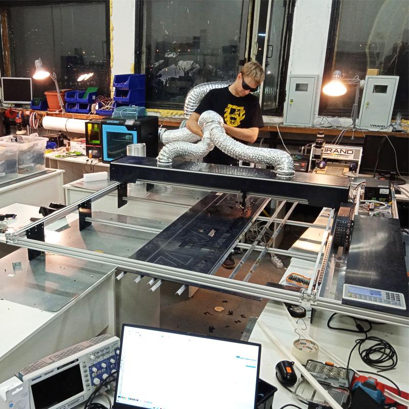 Купить Лазерный станок VIRAND CONSTRUCTOR V3 для компании ИК-4 в п. Форносово Ленинградской области