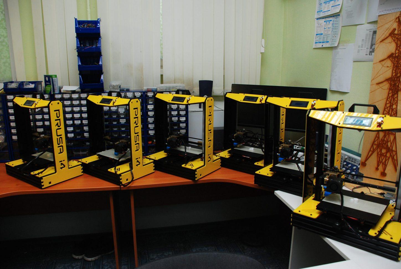 3Д принтеры VIRAND в Гатчинском колледже